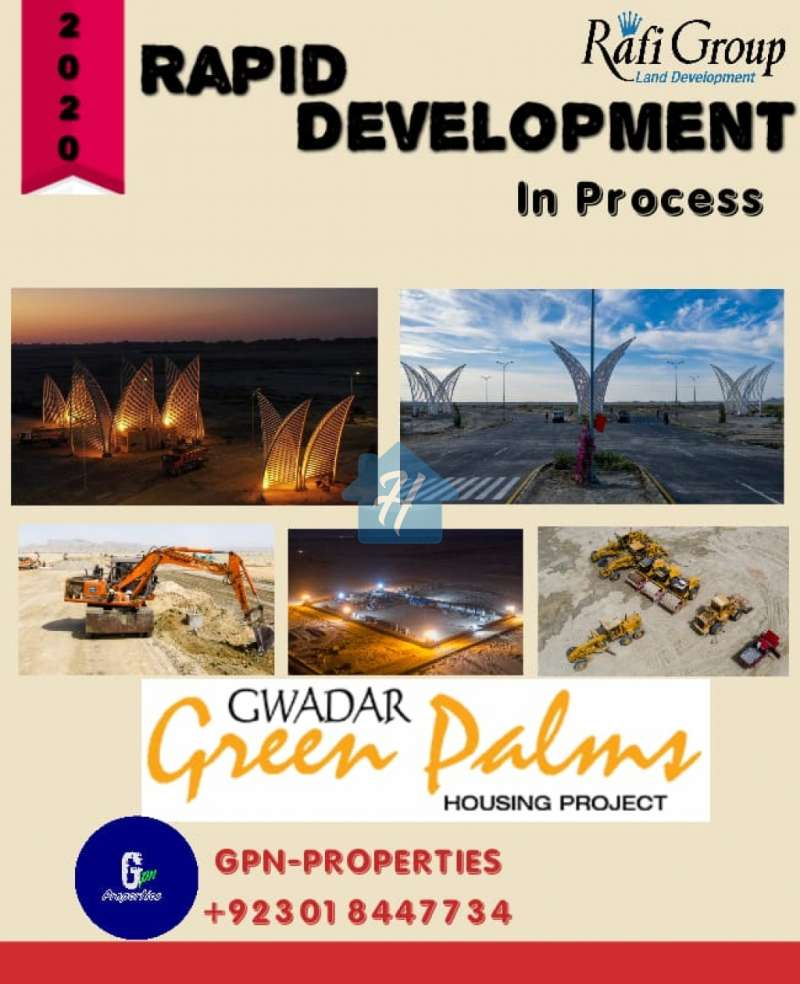 4 Marla Commercial File Avaliable Green Palms Gwadar Rafi Group