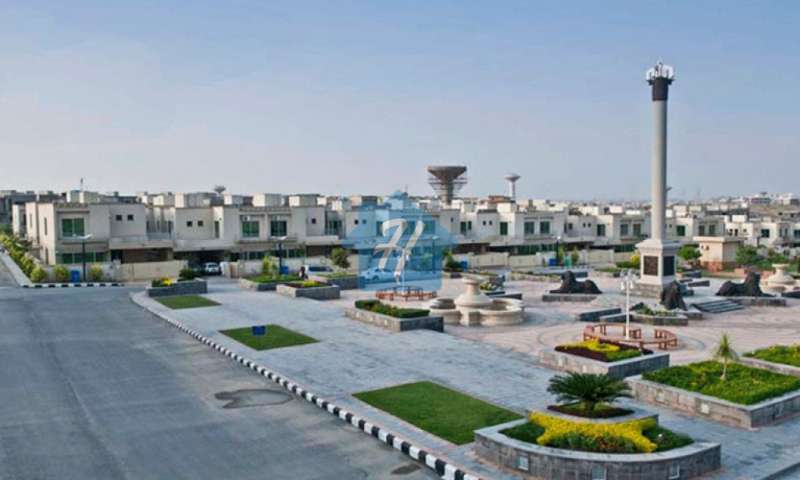 8 Marla Corner Commercial Plot For Sale In Umar Block Sector B Bahria Town Lahore